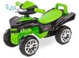 Masinuta ride-on cu sunete si lumini Toyz Mini Raptor 2 in 1 Verde