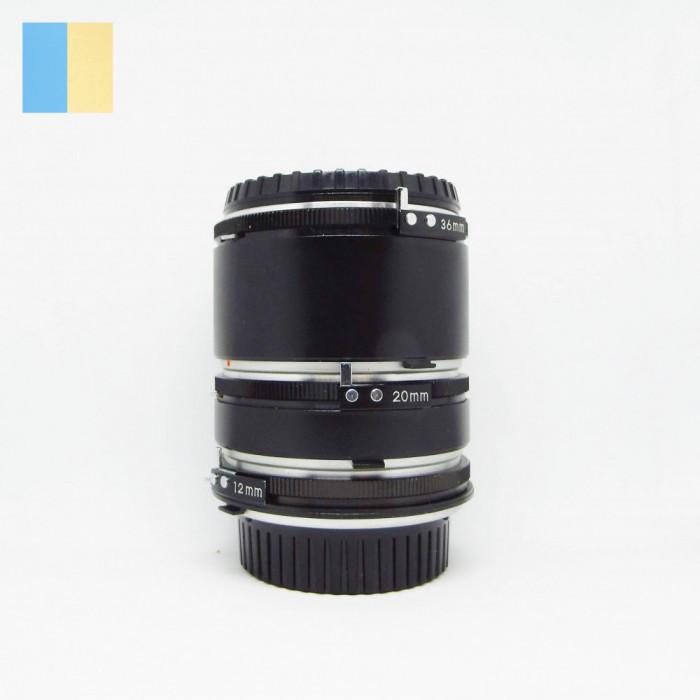 Tuburi extensie macro 12mm, 20mm, 36mm pt montura Minolta SR-mount