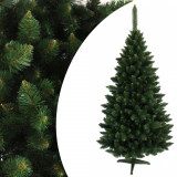 Brad de Craciun artificial Pin Himalaya 180 cm, cu aspect real de conifer, suport inclus, ProCart