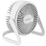 Ventilator pentru birou Orico FT1-2 Desktop USB White