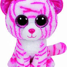 Jucarie de plus TY Boos Asia - tigru alb 24 cm