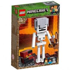 LEGO Minecraft - Minecraft Schelet BigFig si cub de magma 21150