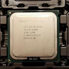 Xeon E5420 Quad Core 2.5Ghz 12Mb cache  LGA 771 modat 775 performante  Q9450, Intel Quad