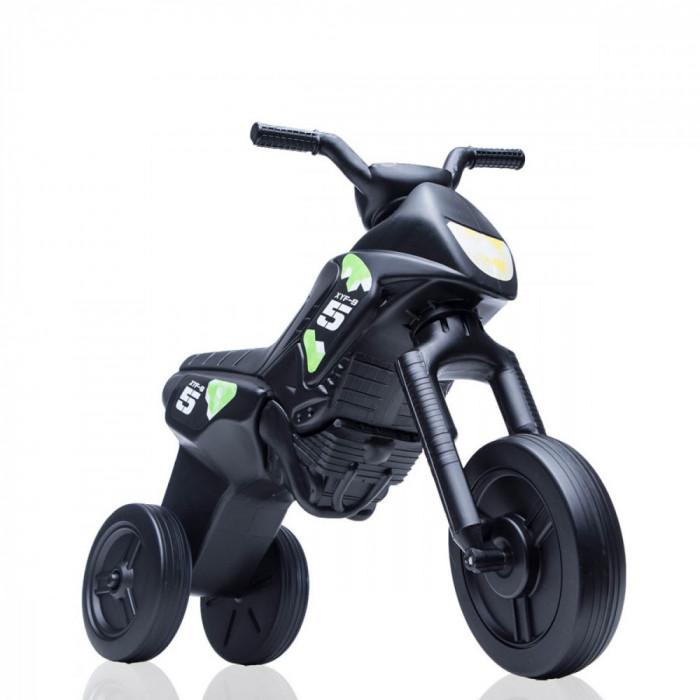 Tricicleta fara pedale Enduro - negru-negru