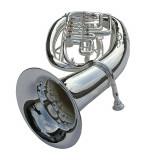 Eufoniu Bariton 4 clape Karl Glaser Bb/SiBemol Baritonhorn argintiu