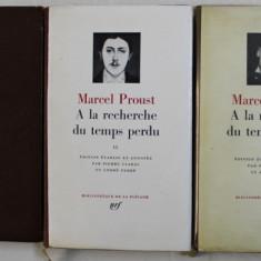 A LA RECHERCHE DU TEMPS PERDU , VOL. I - III de MARCEL PROUST , 1954