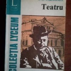 Teatru-I. L. Caragiale