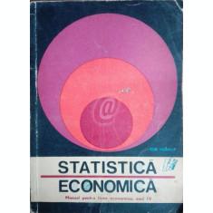 Statistica economica. Manual pentru licee economice, anul IV
