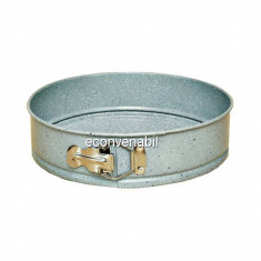 Tava Tort Rotunda Marmorata cu Fund Detasabil 28cm Sapir Z1223HM28