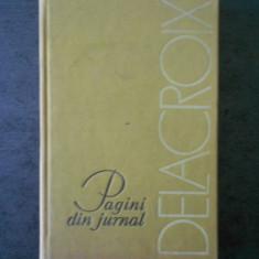 G. OPRESCU - DELACROIX. PAGINI DIN JURNAL