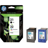 Cartus Original Pentru imprimanta HP 21/22 Combo-pack jet Print Cartridges