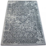 Covor Vintage 22208/356 gri rozetă clasică, 140x200 cm