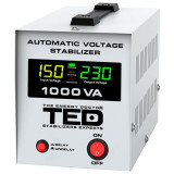 STABILIZATOR TENSIUNE AUTOMAT AVR 1000VA LCD EuroGoods Quality, Ted Electric