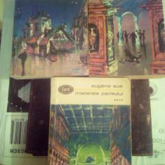 Bpt 481/82/83 eugene sue, misterele parisului vol 1,3,4 + CADOU