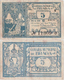 1920 (14 II), 5 centavos (CED.32var.) - Portugalia (Braga)!