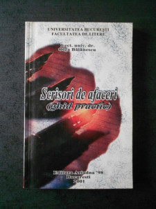 OLGA BALANESCU - SCRISORI DE AFACERI