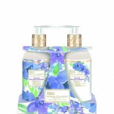 Set 2 produse pentru baie Royale Bouqet, cu liliac si lavanda, pentru femei, 600 ml