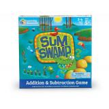 Joc de matematica Aventura in mlastina, 8 piese, 2 - 4 jucatori, 5 ani+, Learning Resources