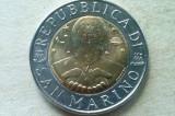 MONEDA 500 LIRE 1996-SAN MARINO, Europa