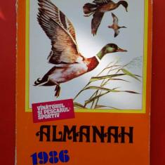 ALMANAH vanatorul si pescarul sportiv  ×  1986