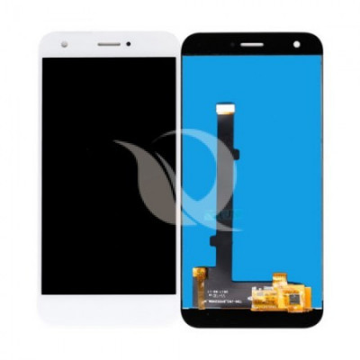 Lcd, zte blade a512 + touch, white foto