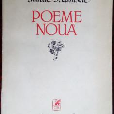 MIRCEA IVANESCU - POEME NOUA (VERSURI, editia princeps - 1983)