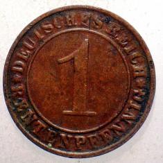 1.446 GERMANIA WEIMAR 1 RENTENPFENNIG 1923 E