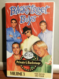 caseta VHS Originala cu BACKSTREET BOYS - VOL 3 (1997/CBS/GERMANY) - ca Noua