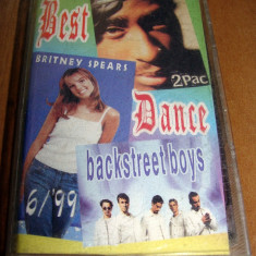Caseta Audio - Britney Spears, Tupac Backstreet Boys, Casete audio