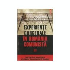 Experiente carcerale in Romania comunista, vol. 3, Polirom