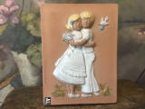 Design / Decor - Placa deosebita din ceramica cu marcaj JIE Gantofta Sweden !