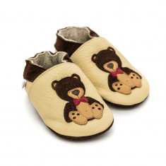 Pantofi cu talpa moale Liliputi Teddyboy
