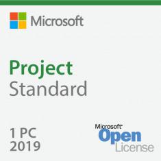 Microsoft Project Standard 2019 Sngl OLP 1 License NoLevel