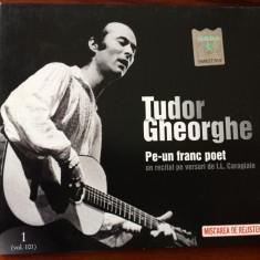 tudor gheorghe pe un franc poet cd disc muzica folk recital versuri caragiale