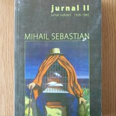 MIHAIL SEBASTIAN- JURNAL INDIRECT
