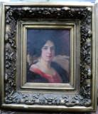 AUREL BORDENACHE(1902-1987) PORTRETUL UNEI DOAMNE