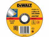 Disc DeWalt 125mm 1.6mm taiere inox - DT42341