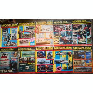 Lot 20 reviste vechi Modelism: Avioane,nave, masini, barci,etc.