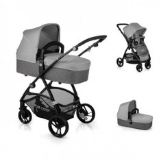Carucior 2 in 1 Slide Top Plus Grey, Jane