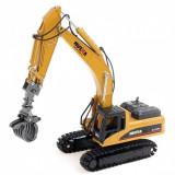 Cumpara ieftin Utilaj de constructie H-Toys, Excavator cu grapple scara 1:50