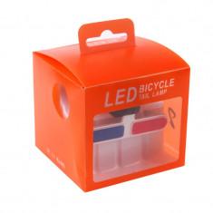 Semnalizare LED pentru bicicleta Tail Lamp XU-902, USB, Oem