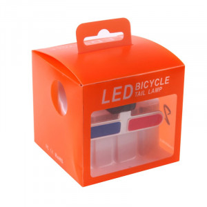 Semnalizare LED pentru bicicleta Tail Lamp XU-902, USB