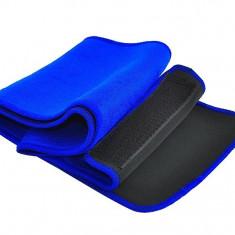 Centura pentru Slabit din Neopren, Dimensiuni 18x100cm, Culoare Albastru