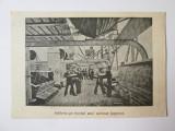 Rara! Carte postala romaneasca:Artileria pe bordul unui cuirasat japonez 1905