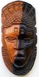 O.082 MASCA LEMN ARTIZANAT ARTA AFRICANA