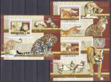 Cumpara ieftin DB1 Fauna Africana Sao Tome Caracal Pantera Leu Ghepard 3 SS MNH, Nestampilat
