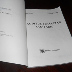 AUDITUL FINANCIAR CONTABIL , Ana Stoian,Eugeniu Turlea, 2001