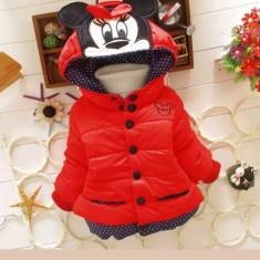 Geaca /jachetă roșie Minnie Mouse, Alta, Rosu