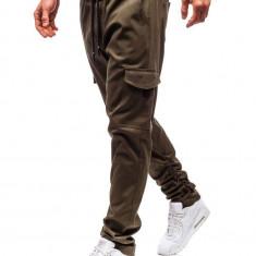 Pantaloni cargo pentru bărbat kaki Bolf 0857