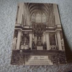 Carte postala - Gand - Gent - interbelica - circulata